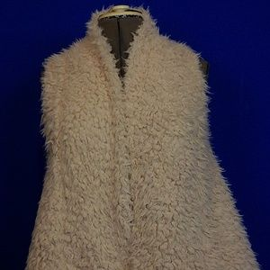 Faux Sheeps Skin Vest